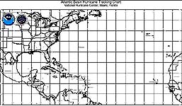 picture about Printable Hurricane Tracking Maps titled Atlantic Hurricane Monitoring Maps