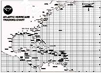 image regarding Printable Hurricane Tracking Maps named Atlantic Hurricane Monitoring Maps